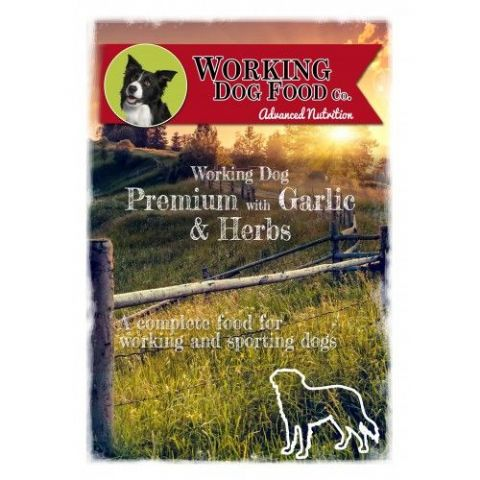 Working Dog Premium with Garlic & Herbs Dry Dog Food